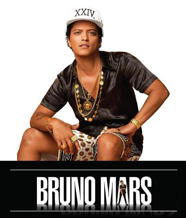 Bruno Mars en Argentina