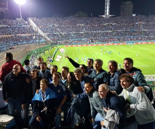 Uruguay vs Argentina con Grupo Ocho