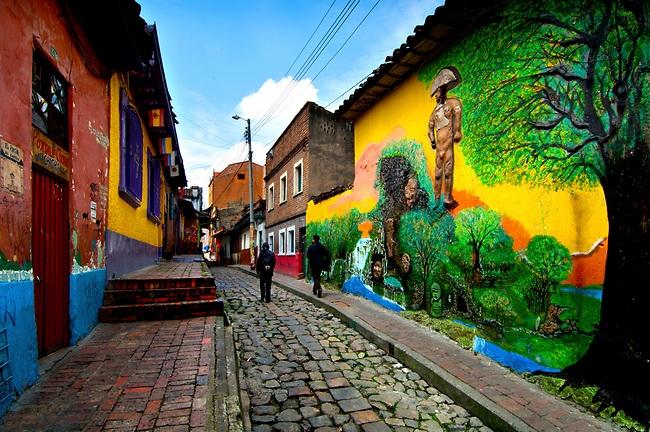 Bogotá y la Zona Cafetera
