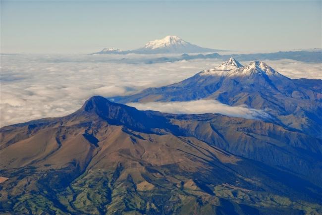 Andes y Galápagos