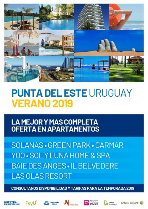 Punta del Este Apartamentos Verano 2019
