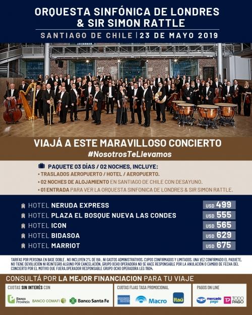 Orquesta Sinfónica de Londres en Chile