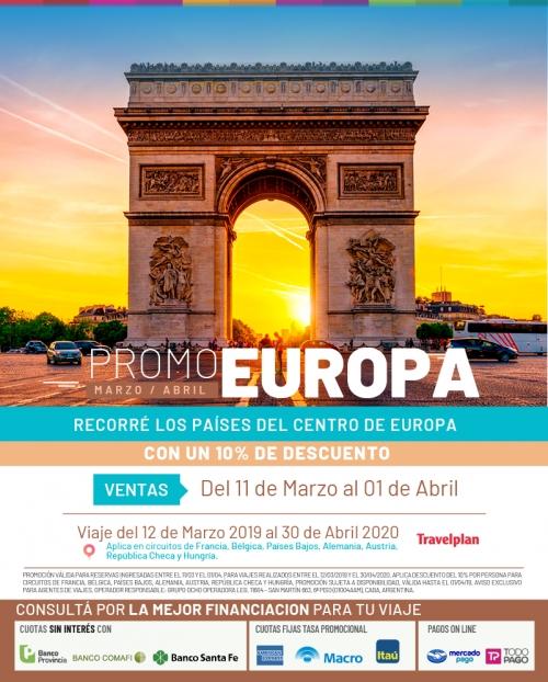 Europa Central Circuitos Promo 10% OFF