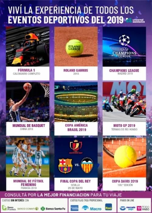 Eventos Deportivos 2019