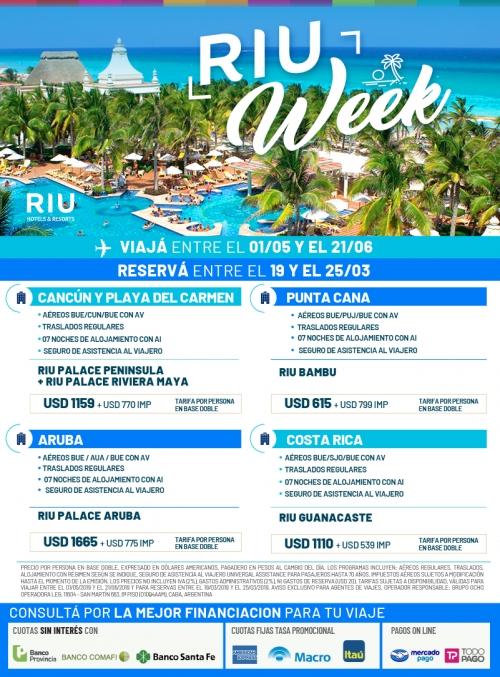Caribe - RIU Week