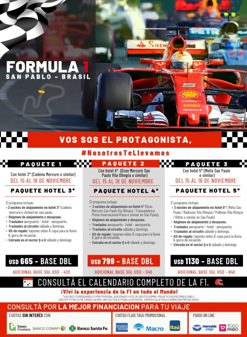 Fórmula 1 en San Pablo