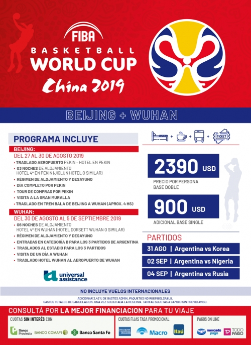 Mundial de Basket China 2019