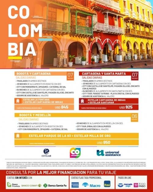 Colombia Ofertas con Estelar Hoteles