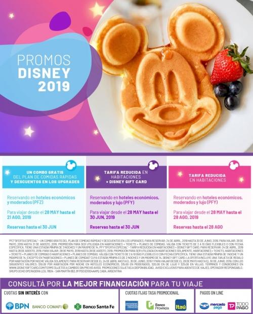 Promos Disney 2019