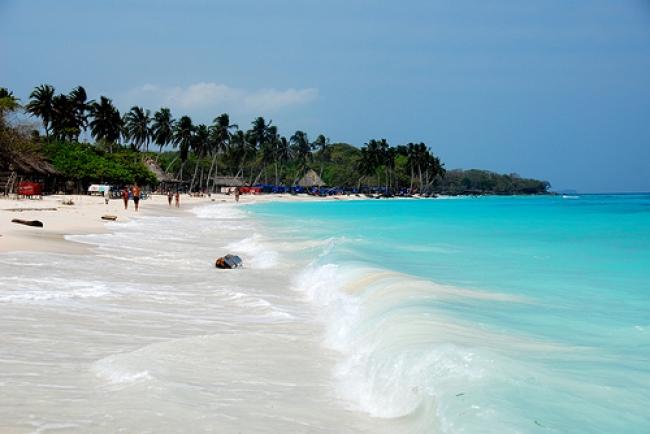 Isla de Barú en Marzo