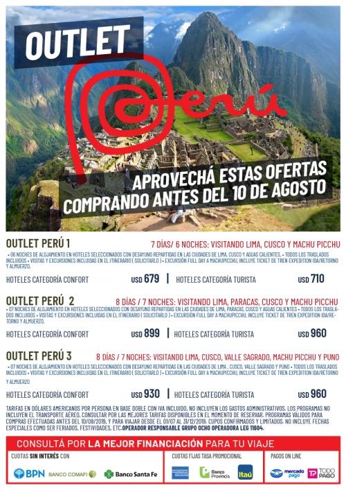Perú Oferta de Paquetes