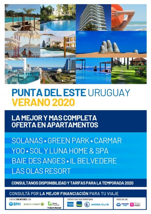 Punta del Este Apartamentos Verano 2020