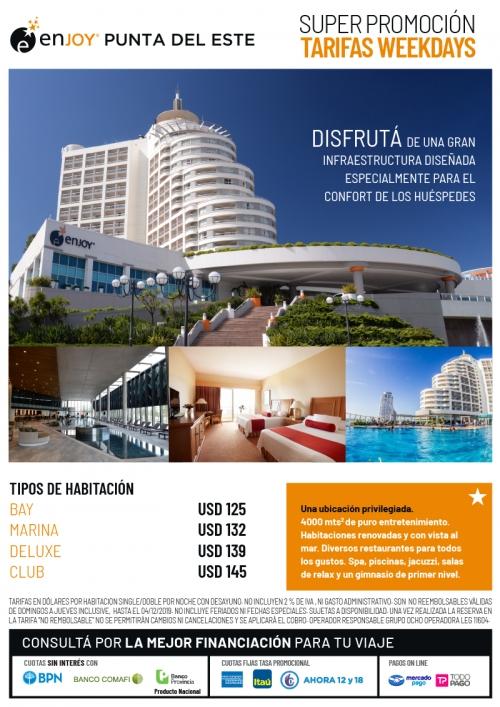 Enjoy Punta del Este Super Promo Weekdays