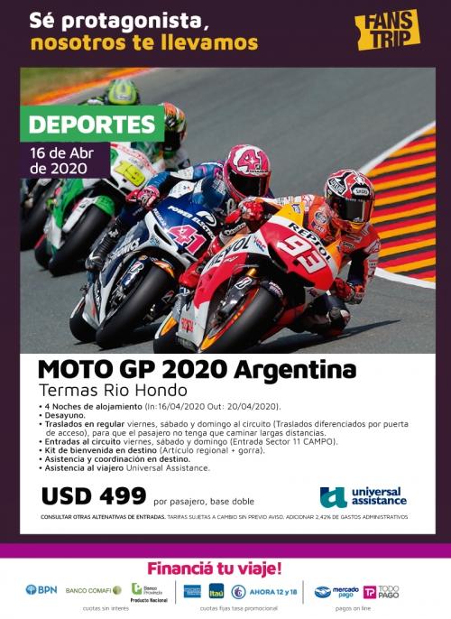 Moto GP 2020 Argentina