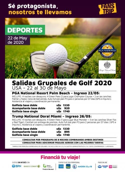 Salidas Grupales de Golf 2020