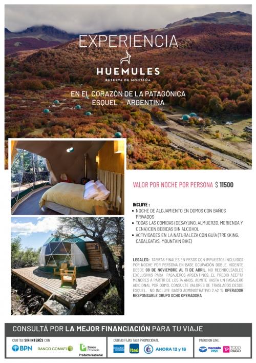 Experiencia Huemules Patagonia Argentina