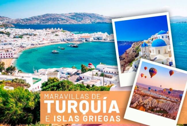 Maravillas de Turquía e Islas Griegas Salida Grupal