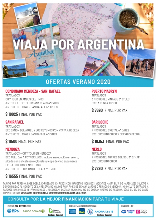 Argentina Ofertas Verano