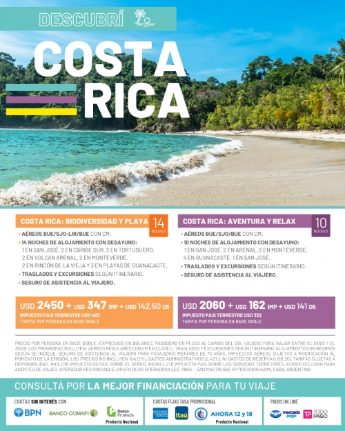 Descubrí Costa Rica