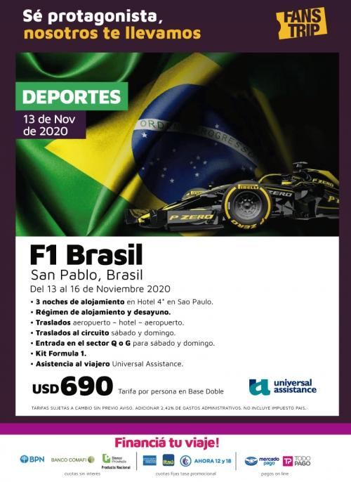 Fórmula 1 en Brasil