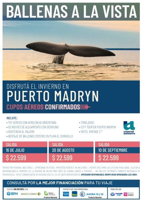 Invierno en Puerto Madryn