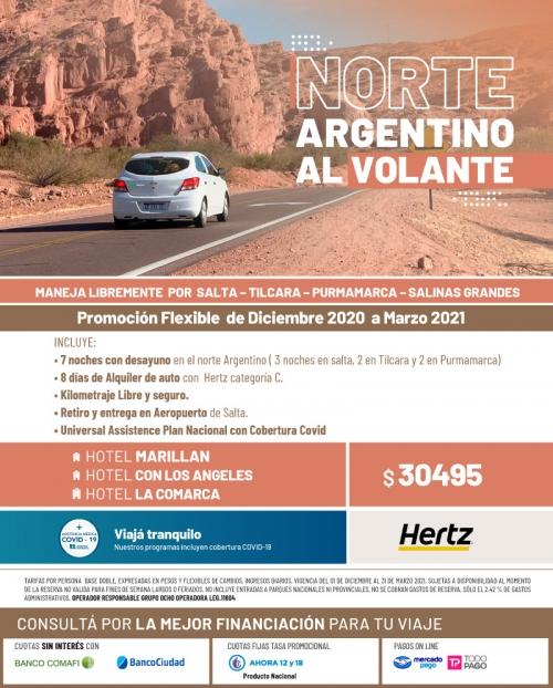 Norte Argentino al Volante Verano 2021 Promo FLEXIBLE