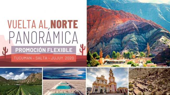 Vuelta al Norte Panorámica Promoción Flexible