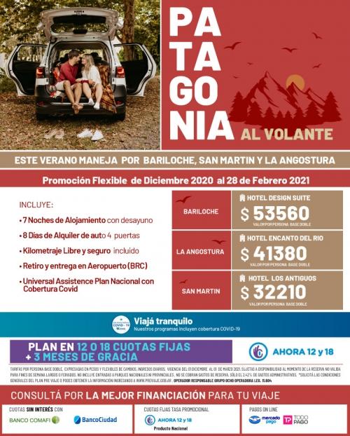 Patagonia al Volante Verano 2021 Promo FLEXIBLE