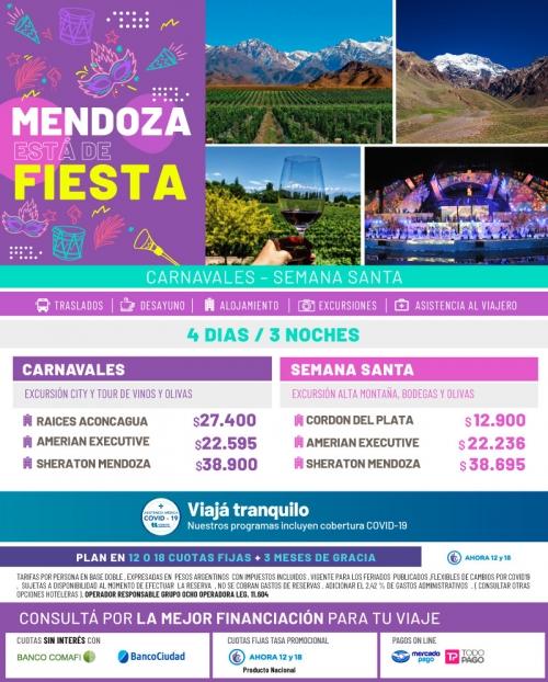 Mendoza de Fiesta! Carnavales y Semana Santa