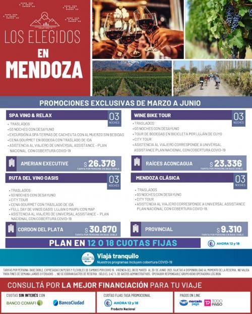 Los Elegidos en Mendoza Promociones Exclusivas