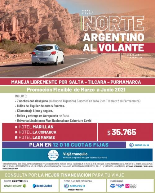 Norte Argentino al Volante Promo FLEXIBLE