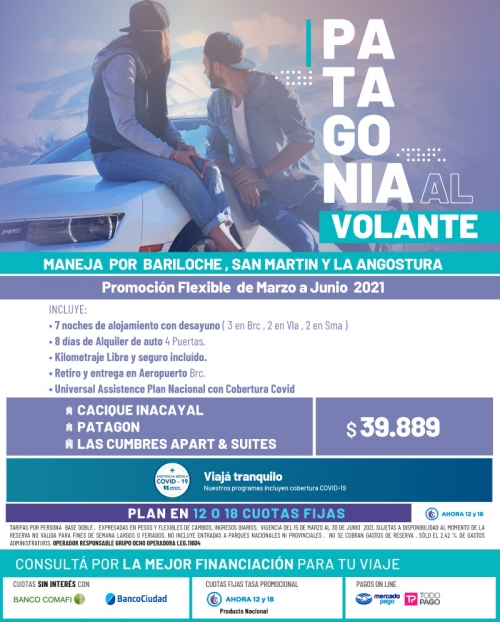 Patagonia al Volante 2021 Promo FLEXIBLE