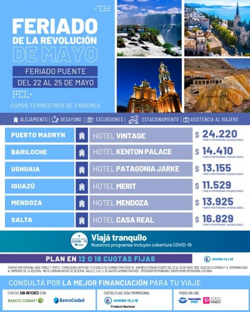Argentina Feriado de Mayo 2021