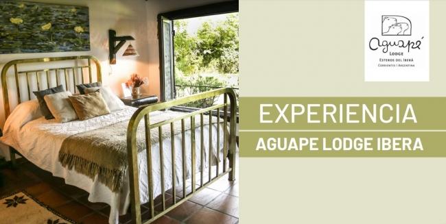 Experiencia Aguapé Lodge Esteros del Iberá