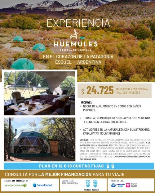 Experiencia Huemules en el corazón de la Patagonia