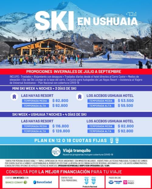 SKI en Ushuaia
