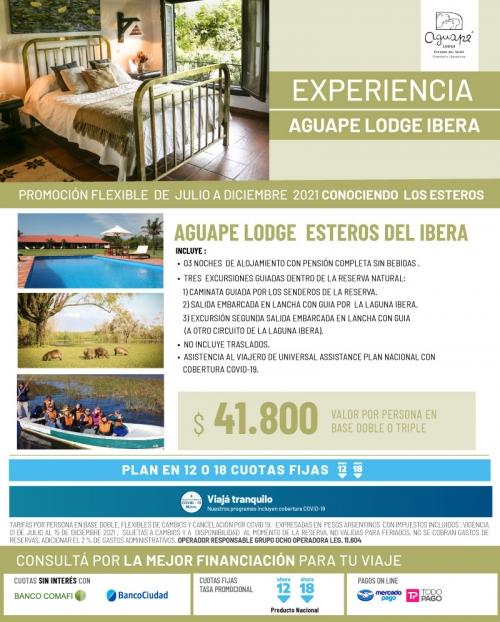 Experiencia Aguape Lodge