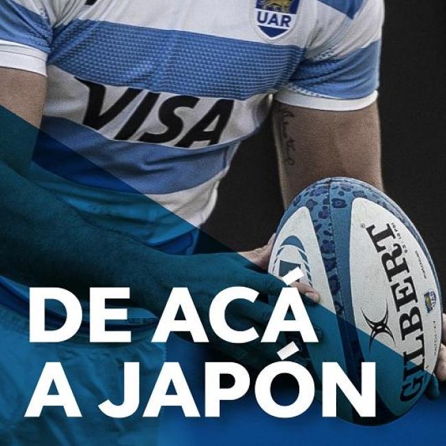 Seguí a Argentina hasta Japón